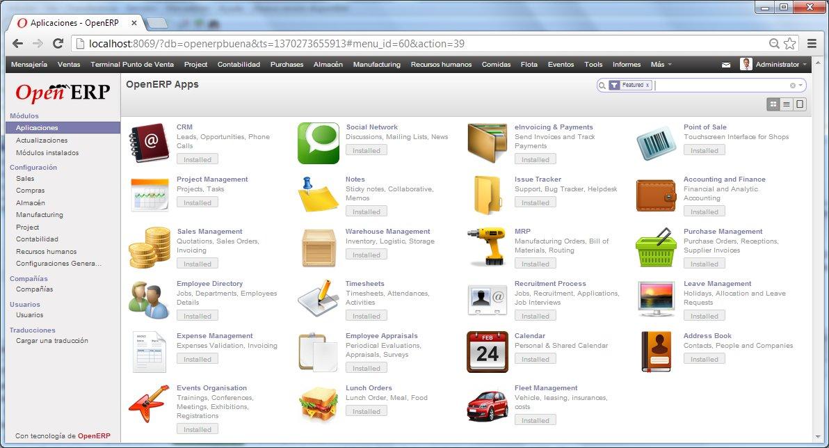 Openred incorpora OpenERP a su porfolio para completar su oferta de Software Libre