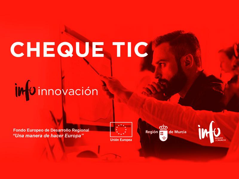 Subvención Comercio Electrónico en Murcia CHEQUETIC 2020
